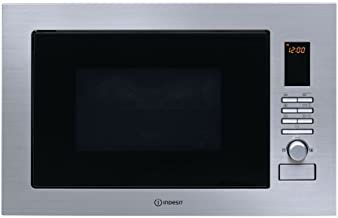 Indesit horno microondas empotrable combinado Grill 25 Lt 900 W 60 cm inoxidable MWI 222.2 x