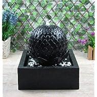 Wehmann Lotus Complete Solar Powered Garden Fountain Set