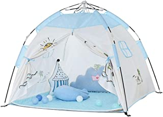 Children's Play Tent, Indoor Outdoor Camping Playhouse Tent, Toys Teepee Foldable Castle Picnic Beach Shelter, Design Gard...