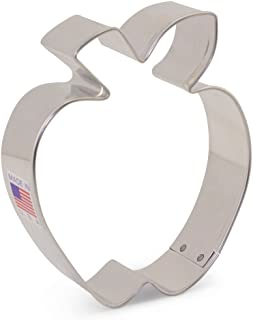 Ann Clark Cookie Cutters Apple Cookie Cutter, 3.5