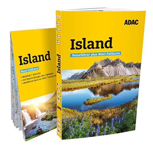 ADAC Reiseführer plus Island: Mit Maxi-Faltkarte und praktischer Spiralbindung
