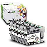 Best inkjet printer ink - Kingjet 3013 Black Ink Replacements for Brother LC3013 Review