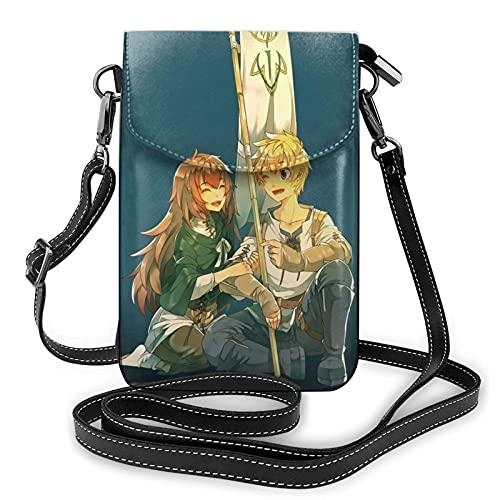 XCNGG Monedero pequeño para teléfono celular A-erith G-arden Crossbody Bags for Women's Crossbody Handbags Cell Phone Purse Waterproof Leather Handbags Small Wallet