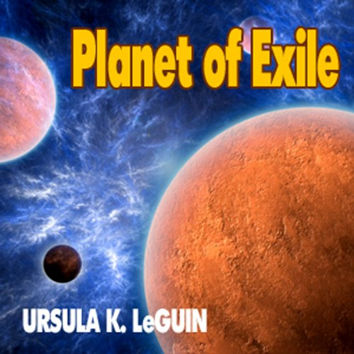 Planet of Exile audiobook cover art
