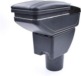 QCFSXWDDX Para la Caja del reposabrazos Hyundai Getz Central Contenido de la Tienda portavasos cenicero Interior