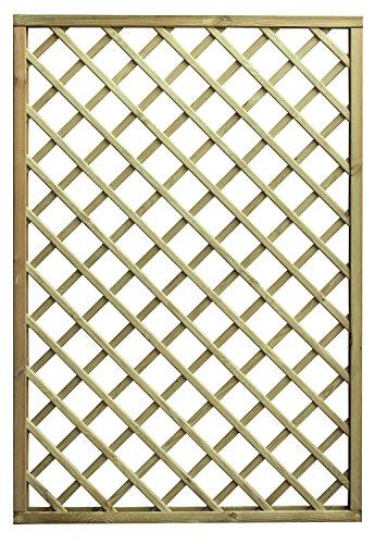 AVANTI TRENDSTORE - Ermes - Pannello grigliato in Legno, Disponibile in 3 Misure (120x180 cm)