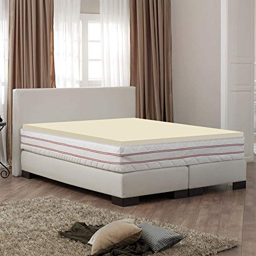 Mayton 1-Inch High Density Memory Foam Topper,Adds Comfort to Mattress,Queen Size
