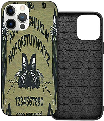 Phone Case Angel of Death Ouija Art Board Print iPhone 12/12 Pro/12 Pro MAX /12 Mini(2020),Liquid TPU Silicone Gel Full Body Shockproof Drop Protection Case Beautiful and Handsome