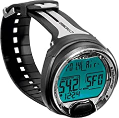 A single button Dive Computer makes it effortless to set Air, Nitrox and Gauge modes. Ideal for beginners in Scuba Diving. It is easy to use and easy to read all the information due to the high-definition screen that gives large numerical displays. F...