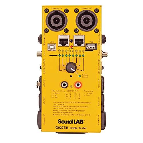 Soundlab G027EB Universal Cable Tester 12 Type