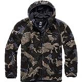 Brandit Teddyfleece Worker Jacket Giacca da Lavoro in Pile Teddy, Darkcamo, XL Uomo