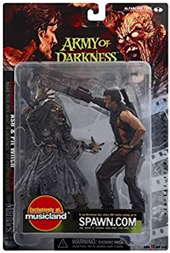 Army of Darkness  Ash and Pit Witch Action Figure by Movie Maniacs