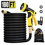 Best Expandable Garden Hoses - Acmind 100FT Expandable Garden Hose, Extra Strength Fabric Review