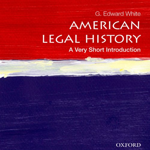 American Legal History: A Very Short Introduction cover art