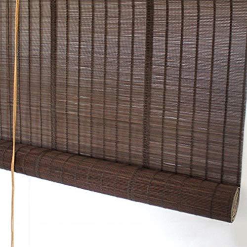Bambusrollo Außenrollläden für Den Innenhof Garten Gartenlaube Veranda Tür, Außen Große Sonnenschutzrollo, 60cm / 80cm / 100cm / 120cm / 140cm Breit (Size : W 140×H 300cm)