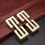Furniture Handle Durable Alloy Wardrobe Door Handle 10 Pieces Chinese Cabinet...