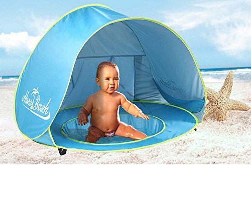 Monobeach Baby Beach Tent Pop Up Portable Shade Pool UV Protection Sun Shelter...