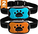 PawPets Anti Bark Collar - No Shock Training Dog Collar - Humane with...