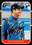 Reed Sorenson autographed Trading Card (Auto Racing, NASCAR, SC) 2020 Donruss #122