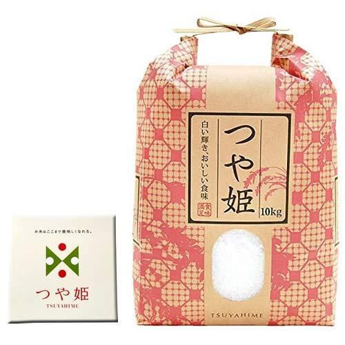 山形県産 つや姫 10kg 紙袋 令和2年度産 (7分づき 9.3kg×1袋)