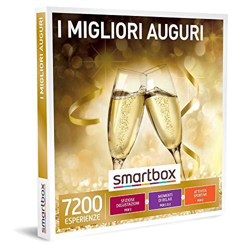 smartbox - Cofanetto Regalo - I Migliori Auguri - Idee Regalo - Degustazioni o momenti di Benessere o attività Sportive per 1 o 2 Persone