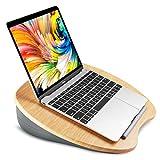 HUANUO Laptopkissen für Bett mit Kabelloch & Anti-Rutsch Streifen für max. 15,6 Zoll Notebook,...