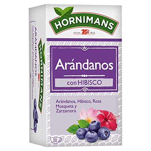 Infusion Arandanos Hornimans 20 sobres