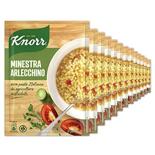 Knorr Minestra Arlecchino - Confezione Da 18 Pezzi - 1.22 kg