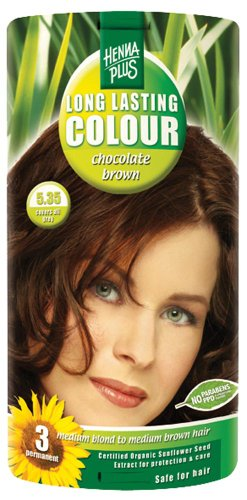 Hennaplus 49144 Long Lasting Colour 5,35 Chocolate Brown