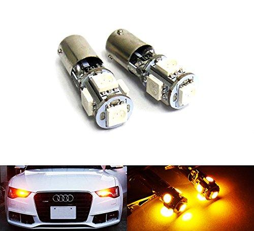 2x Ampoules à baïonnette ambre LED CAN-bus LED pour clignotant DRL
