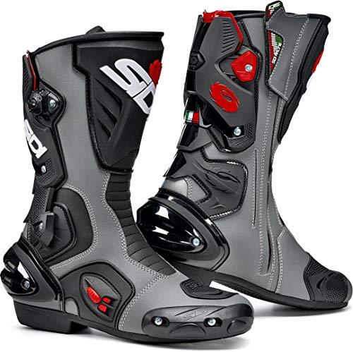 Sidi Vertigo 2 - Botas de moto (talla 46), color negro y gris