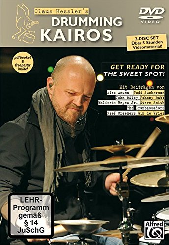 Claus Hessler's Drumming Kairos (Doppel-DVD)