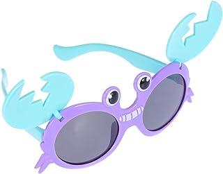 VALICLUD - Gafas de Sol de Fiesta de Novedad para Niños Niñas Marcos de Cangrejo Gafas Disfraces Suministros de Accesorios de Fotografía