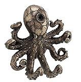 Steampunk Octopus Wall Hook Bronze