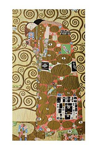 Germanposters Gustav Klimt Die Erfüllung Poster Kunstdruck Bild 76x47cm