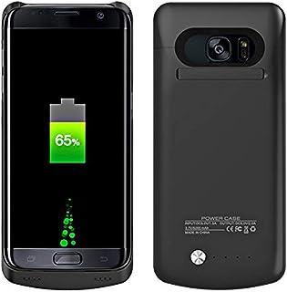 8786636045b Galaxy S7 Edge Funda de batería, 5200 mAh, batería Recargable, Cargador de  batería