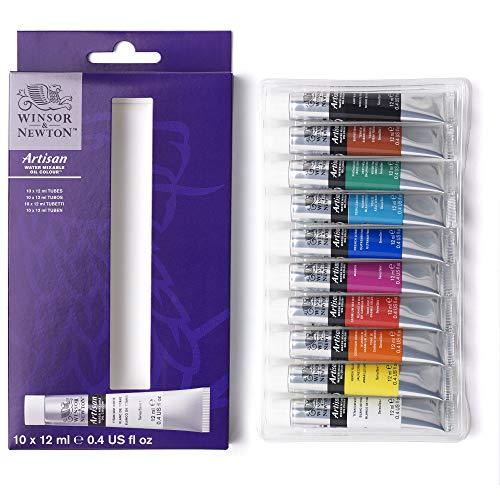 Winsor & Newton Artisan-Set di colori a olio miscelabili ad acqua, nessuna, 120 Unità