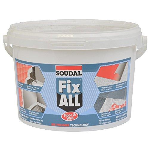 Soudal Montagekleber Fix ALL Floor & Wall weiss 4 kg