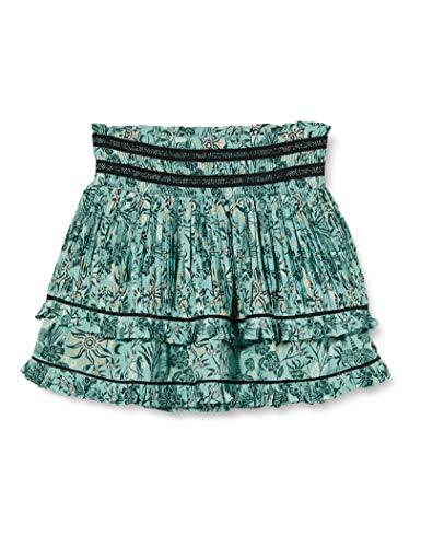 Scotch & Soda R´Belle Girls Mini Length Ruffle with Inner Shorts in Allover Print Skirt, Combo H 0587, 12