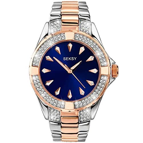 Seksy Women's Analogue Quartz Watch with Stainless Steel Bracelet – 2140.37