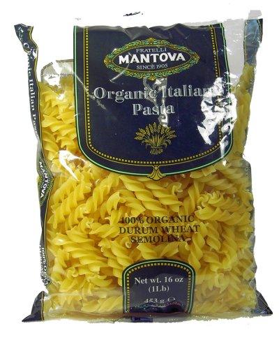 Mantova Popular brand in the world Italian Japan Maker New Organic Spirali Pasta 1 pack lb - 12 Authentic