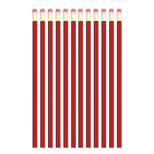 Schreibbleistifte für Studenten, HB, 12 Stück, ideal für Kinder, Jugendliche, Erwachsene, Zeichnen, Schreiben, Büro, Schreibtisch, Arbeit