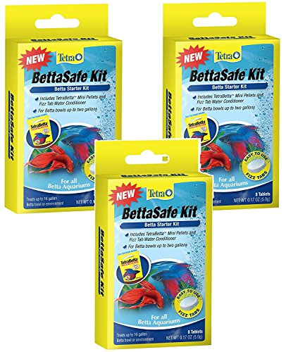Tetra BettaSafe Kit Tablets - 24 Total Tablets (3 Packs with 8 Per Pack)