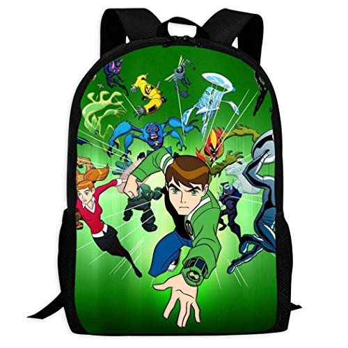 shenguang B-eN 10 He-ro Alien Zaino Daypack Borsa a tracolla Zaino Laptop Travel Bag College Bookbag