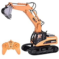 ✈Shipped from US, usually take 3-9 days to be delivered. Details and Reality: The professional heavy duty excavator toy model is the most realistic replica of the excavator construction tractor. This powerful and well-structured heavy-duty tractor ex...