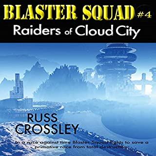 Raiders of Cloud City audiobook cover art