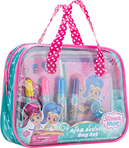 Lollipop Toys Shimmer and Shine Art and Activity Bag Set
