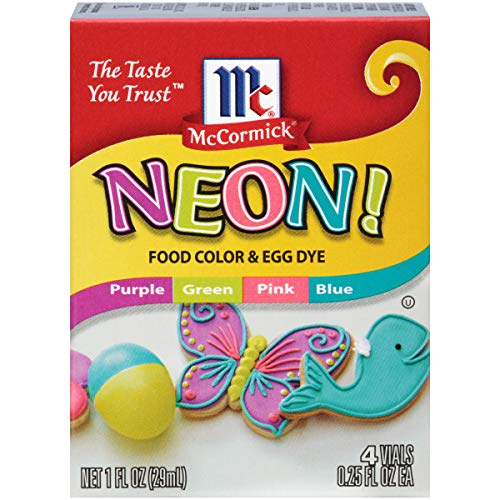 Neon Food Coloring
