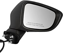 Passengers Power Side View Mirror Heated Signal Ready-to-Paint Replacement for Mazda GHP9-69-121E AutoAndArt