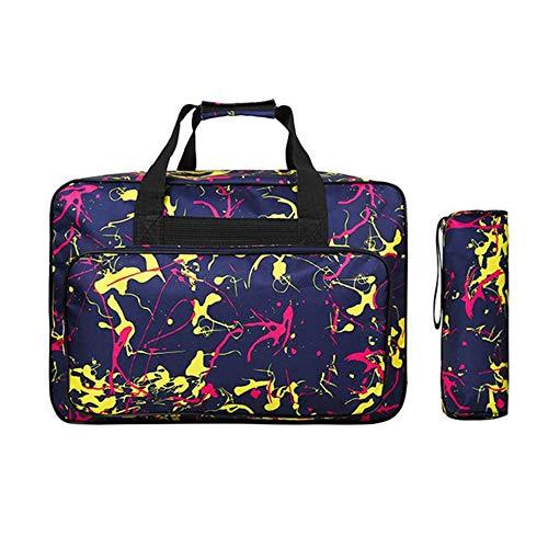 Multifunctional Sewing Machine Bag Waterproof Sewing Machine Tote Bag Portable Travel Storage Bag Large Capacity Sewing Machine Bags Sewing Tools Hand Bags Sewing Machine Carrying Cases w/Handle (2#)